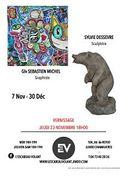 Exposition Sylvie DESSEVRE et Glv Sébastien MICHEL