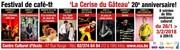 «La Cerise du Gâteau» - Festival de café-théâtre - 20ème Anniversaire !