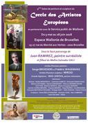 9 è Salon de peinture et sculpture du Cercle des Artistes Européens à l'Espace Wallonie de Bruxelles