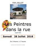 Artistes dans la rue à Fayl-billot en Haute-Marne (52500)