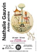 Exposition peinture à l'Escabeau Volant. Nathalie Gauvin – A