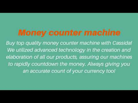 Money counter machine 720p