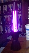 Lava lamp black light