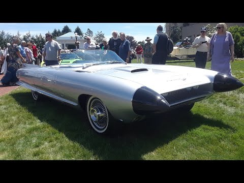 1959 Cadillac Cyclone Concept Car Designed By Harley Earl Shown By Jacob GM Heritage Center