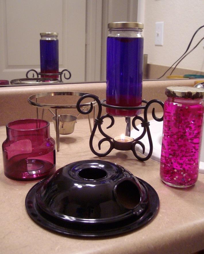 Candle DIY Project Paraphanelia