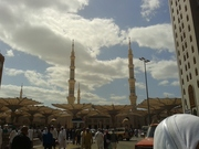 cloudy weather at Madinah