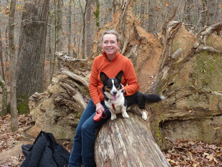 On a hike November 23 at Red Top Mountain