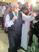 Preaching at Kingdom Life Tabernacle, Kampala, Uganda