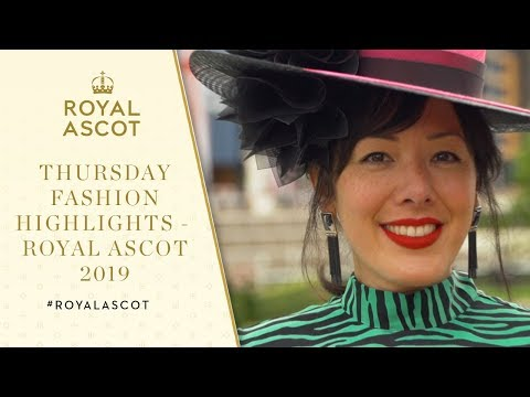 Thursday Fashion Highlights | Royal Ascot 2019