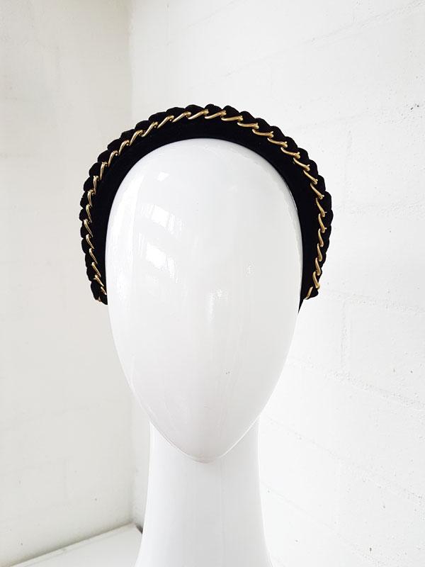 Black-single-chain-headband-8