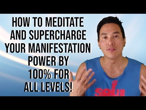 How To Meditate And Speed Up Your Manifestations - Law of Attraction (Beginners Welcome) [2019]