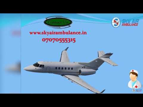 Take Sky Air Ambulance Service in Jabalpur with Hi tech Medical Support