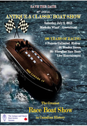 the Biggest Vintage Race Boat Show in Canada!