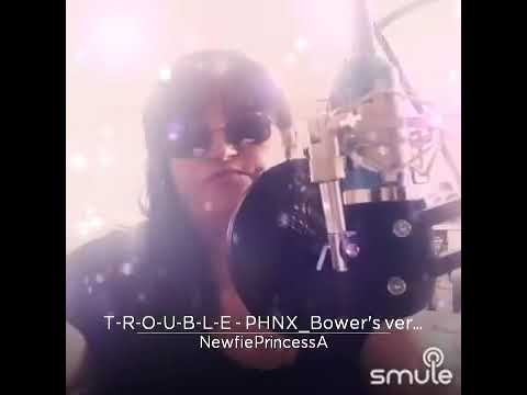Trouble recorded by me NewfiePrincessAudrey