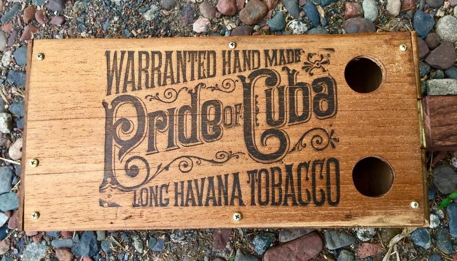 Pride of Cuba vintage box