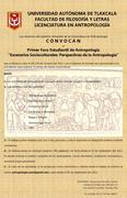 Primer Foro Estudiantil de Antropología.