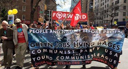 communist-dem party 100th birthday Chicago usa