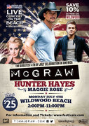 Tim McGraw 4th of July All-Day Beach Concert & Festival