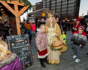 Christmas Village in Philadelphia Grand Opening Ceremony