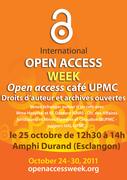 Open access café UPMC : droits d'auteur et archives ouvertes
