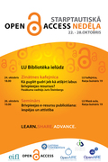 Open Access publishing: possibilities and development