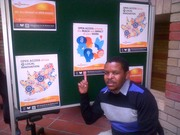 Gerald Louw promoting Open Access