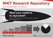 RMIT Research Repository: Promoting Your Research