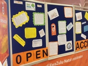 University of  KwaZulu-Natal  Library Howard College Campus Celebrates Open Access week