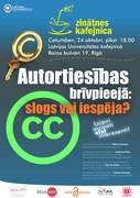 Open Access Week celebration in the University of Latvia