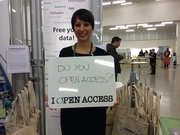 """The """"I Open Access"""" Launch Contest at ASHG San Diego"""