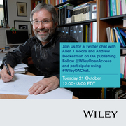 Wiley Open Access Twitter Chat with Allen J Moore and Andrew Beckerman