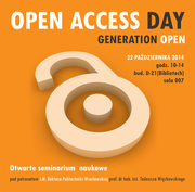 Open Access Day in Wroclaw University of Technology