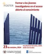 FOSTER: Formar a los jóvenes investigadores en el acceso abierto al conocimiento