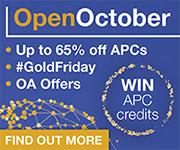 Taylor & Francis #GoldFriday - 24th October