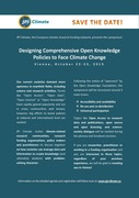 Designing Comprehensive Open Knowledge Policies to Face Climate Change