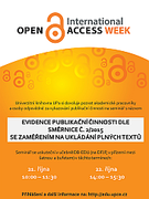 Open Access Week at the University of Pardubice