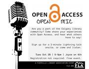 Open Access Open Mic