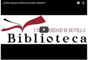 ¿Cómo apoya la Biblioteca de la Universidad de Sevilla el Acceso Abierto?