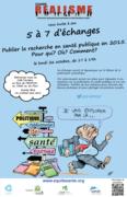 5 à 7 – Publier la recherche en santé publique en 2015: Pour qui ? Où ? Comment ?