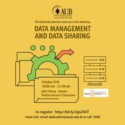 Data Management and Sharing