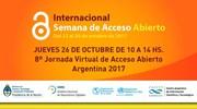 ACCESO ABIERTO 2017: jornada virtual en la FAU-UNLP