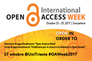 Open Science Data / Open Access Publishing @UniTrieste