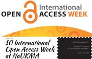 Open Access Week at Kyiv Mohyla Academy