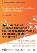 Open Access et sciences humaines : quelles transformations des pratiques de recherche ?