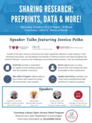 Sharing Research: PrePrints & Data