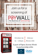 Paywall: The Business of Open Scholarship