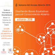 Editatón 2018 - Acceso abierto en el repositorio GREDOS