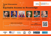 Panel Discussion on Equitable Access to Knowledge