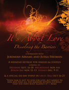 It's About Love, Bali, October 17-22
