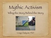 8-Week Seminar on Mythic Activism in Berkeley